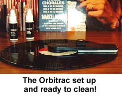 [ORBITRAC ALL SET UP AND READY]