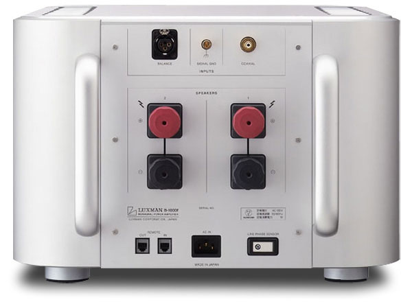 SoundStage! Equipment Review - Luxman B-1000f Mono